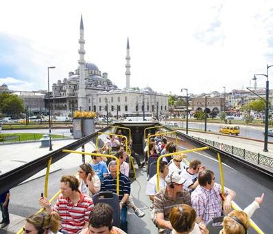 Panaromic Hop on Hop off Bus Tour in Istanbul  Turkey Travel Bazaar