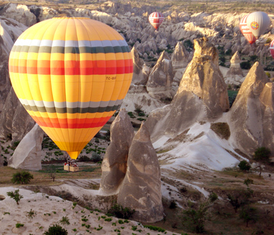 3 Days Cappadocia Package From Istanbul & Balloon Ride